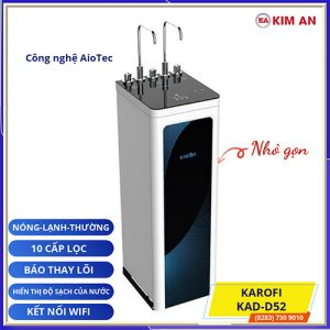 may loc nuoc nong lanh karofi KAD D52 1